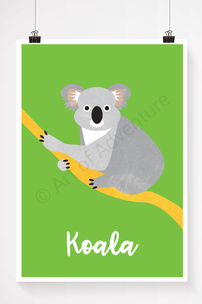 Koala illustration