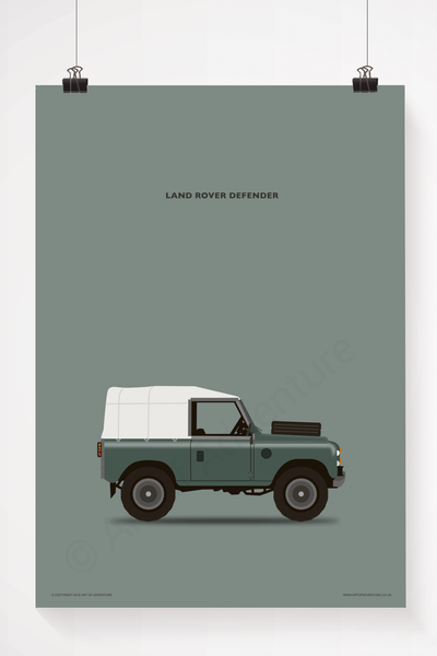 Land Rover Defender Green - Art of Adventure