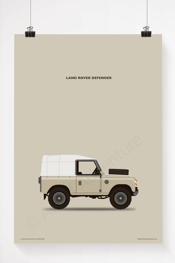 Land Rover Defender Sand - Art of Adventure