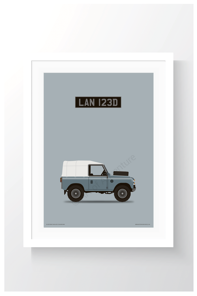 Personalised Car Portraits - Art of Adventure