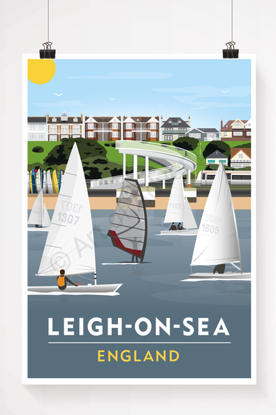 Leigh-on-Sea illustration