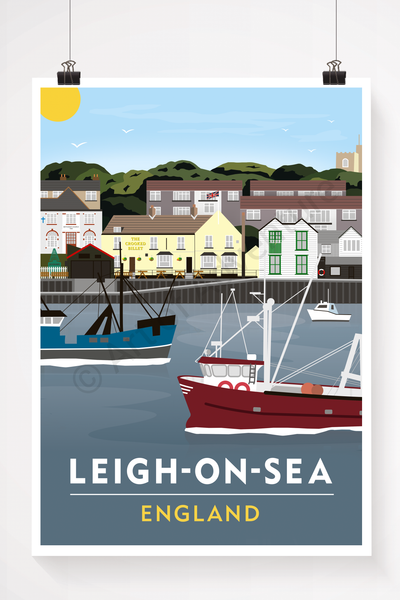 Old Leigh, Leigh-on-Sea illustration