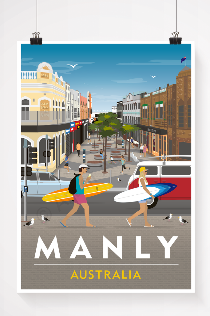 Manly Corso – Sydney