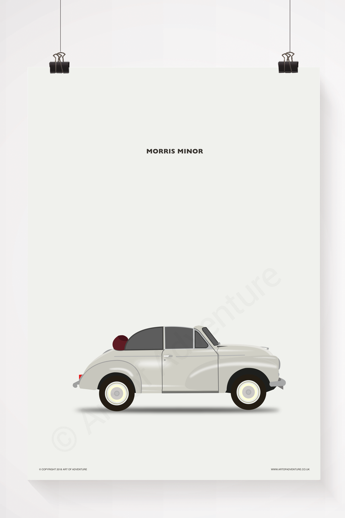 Morris Minor Portrait Convertable