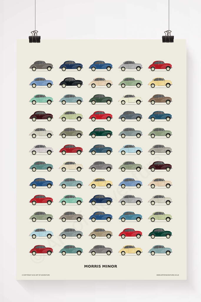 Morris Minor illustration