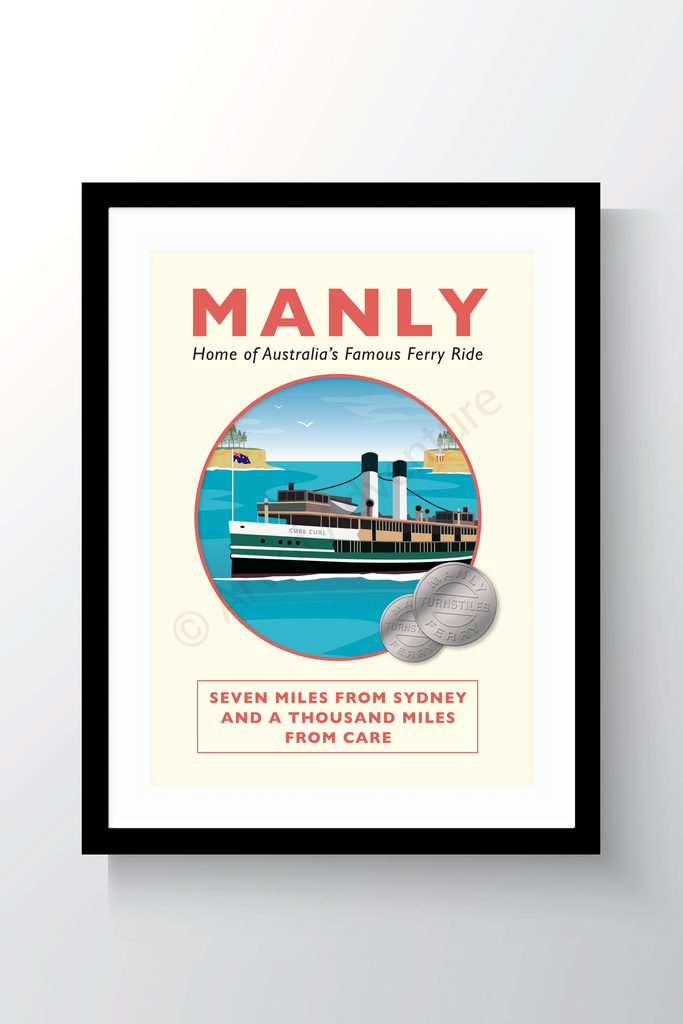 Old Manly Ferry – Sydney