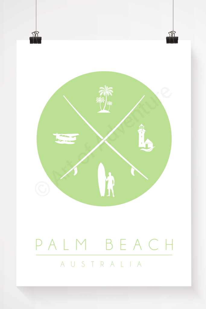 Palm Beach – Surfing Lifestyle - Art of Adventure