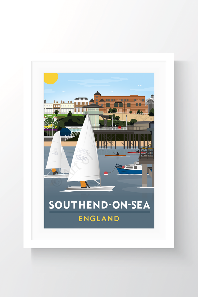 Southend-on-Sea Beach - Art of Adventure