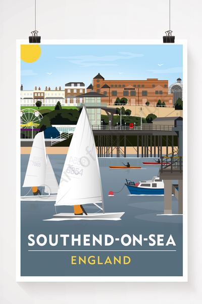 Southend-on-Sea illustation
