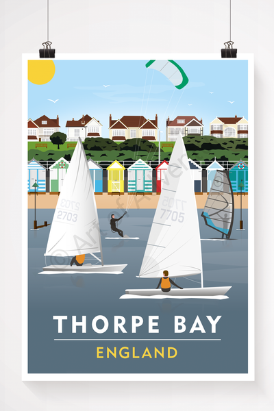 Thorpe bay illustration
