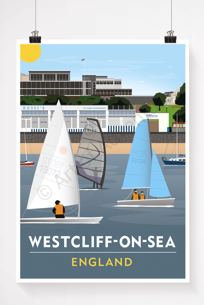 Westcliff-on-Sea Beach - Art of Adventure