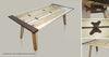The 'Cappuccino' Dining Table, layers of beautiful technical innovation.