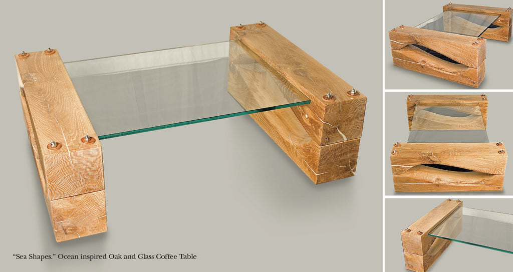 Oak & Glass design: inspired by the ocean