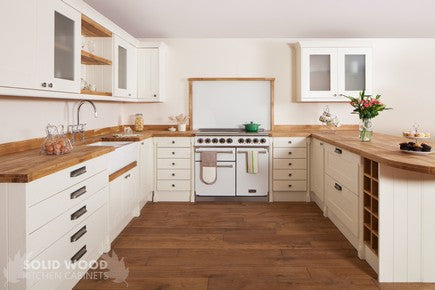7 Bespoke Kitchen Contemporary Traditional Countertops Storage Sink Hob Solid Hardwood Designed & Installed by The Fine Wooden Article Co., Gloucestershire, South West, UK