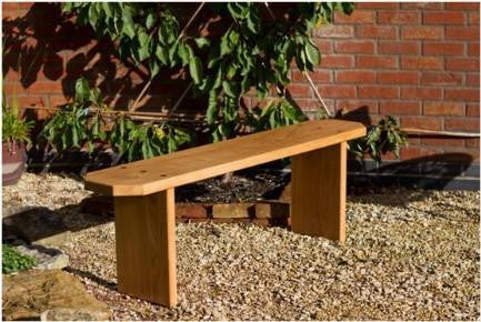 Solid Oak Handcrafted Adult 3 seat Bench from sustainably sourced wood. The Fine Wooden Article Company, Gloucestershire, UK.