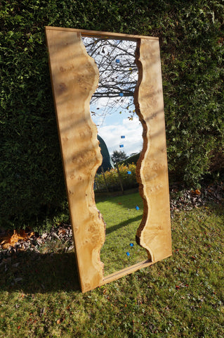 Pippy Oak Mirror (full length)