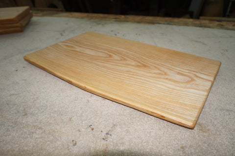 Ash Carving Board. (Natural Edged.)