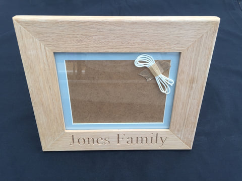 Solid Oak Picture Frame (8x6)