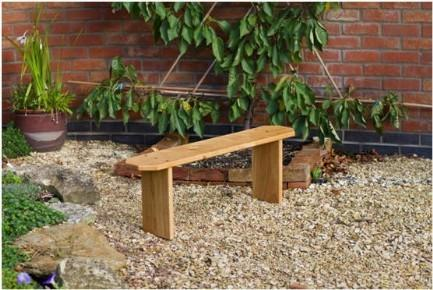 Child 3 Seat Bench from sustainably sourced wood. The Fine Wooden Article Company, Gloucestershire, UK. Solid Oak Handcrafted
