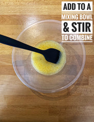 Stir everything until combined