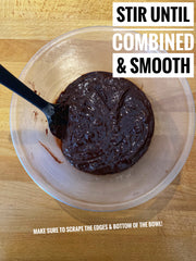 Stir until combined and smooth