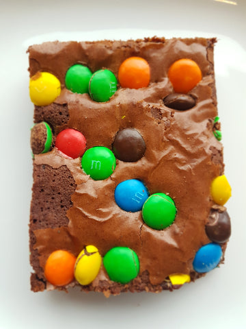 Chocolate M&M Brownies - Northern Brownies