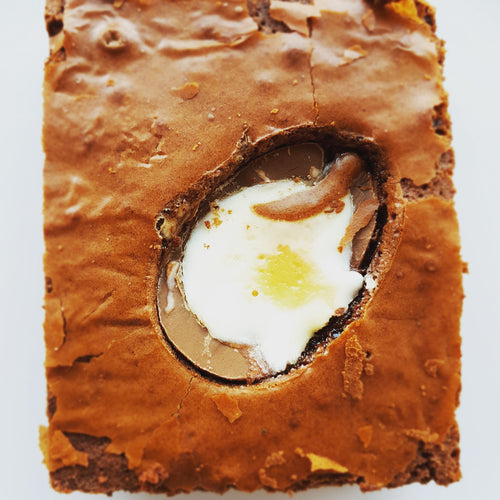 Cadbury's Creme Egg Brownies - Northern Brownies