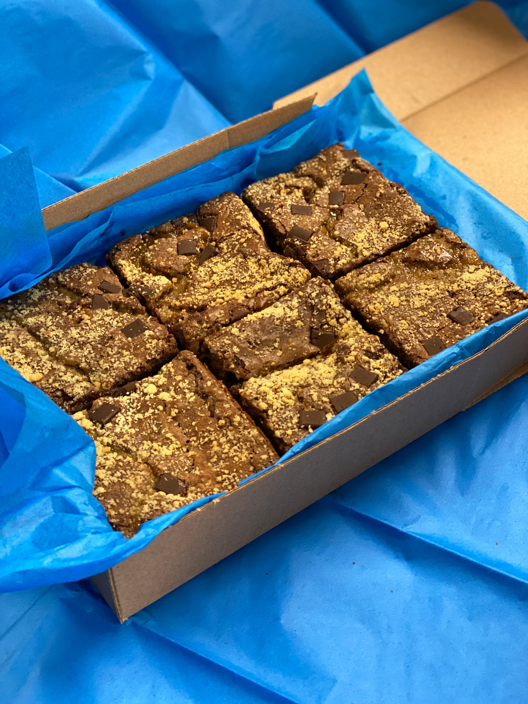 Millionaires Shortbread Brownies - Northern Brownies