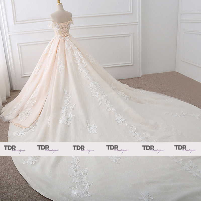 Sara Princess Wedding Dress