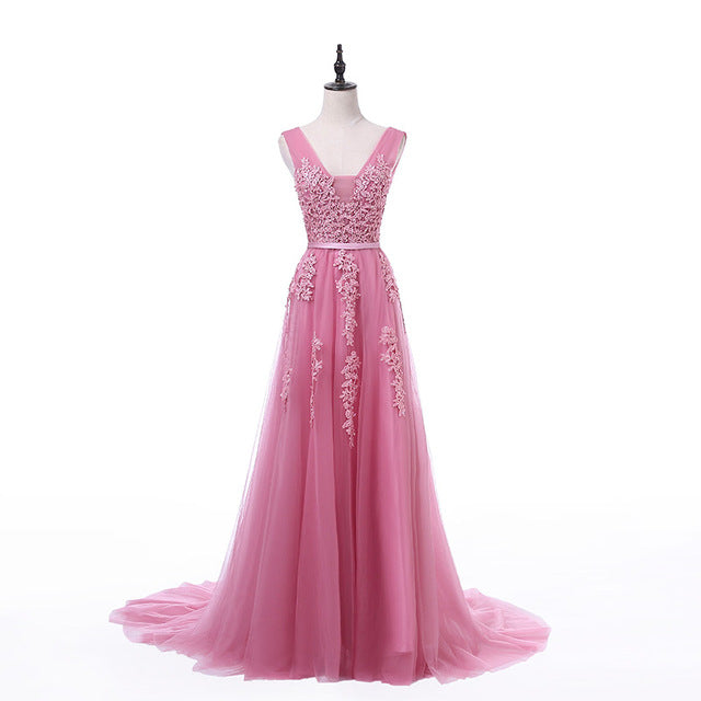 Embellished Tulle Bridesmaid Dress