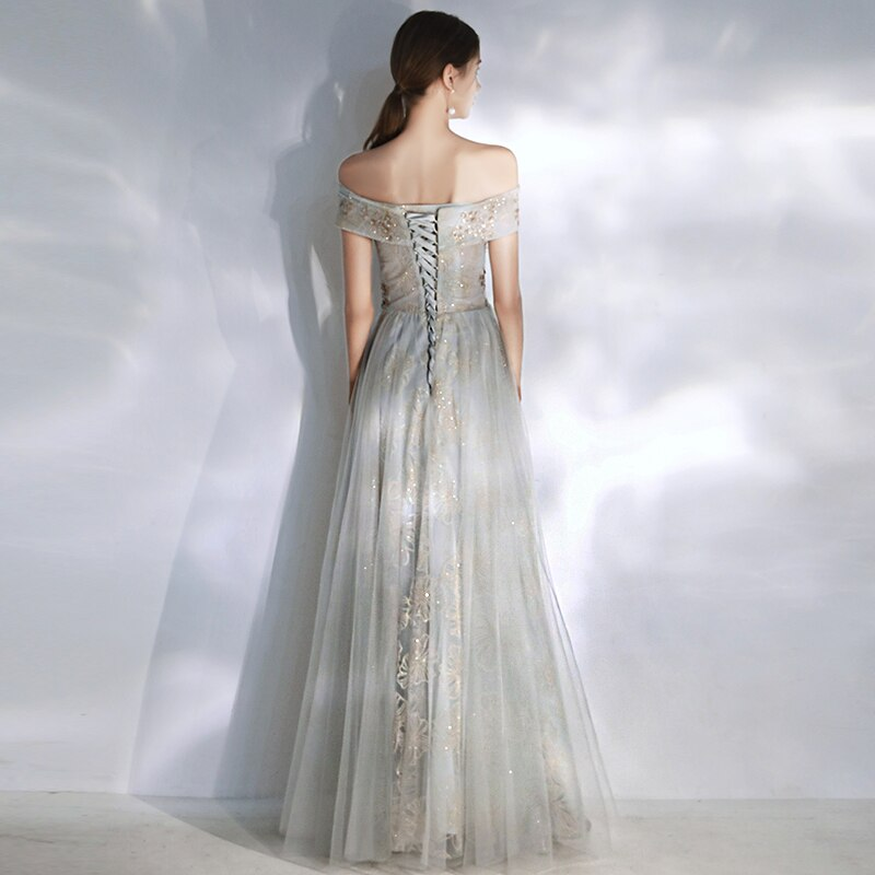 Serena Off Shoulder Prom Dress