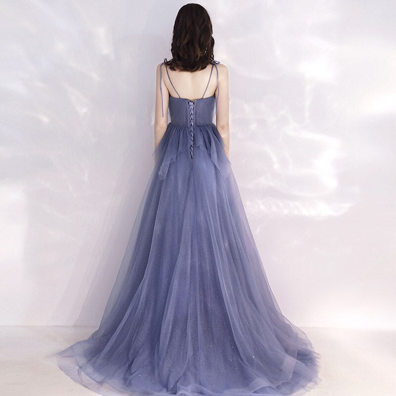 Fiona Flowy Chiffon Ruffled Prom Dress