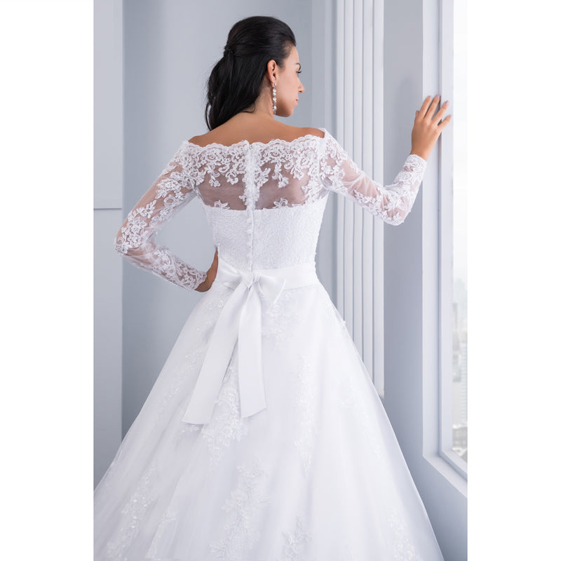 Lila Princess Wedding Dress