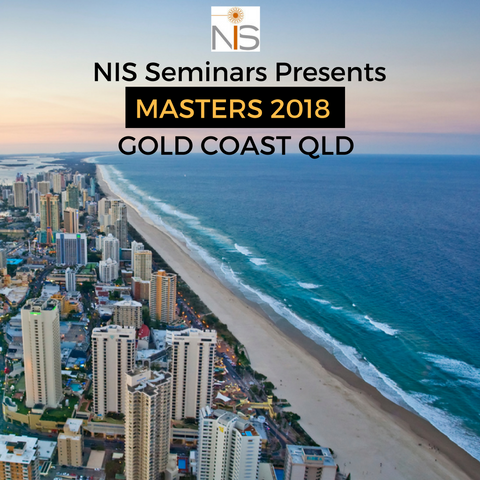 NIS Masters Seminar 2018 - Gold Coast, Queensland AUSTRALIA (Late Registration)