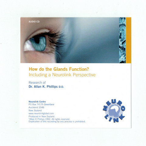 How do the Glands Function - The NIS Perspective