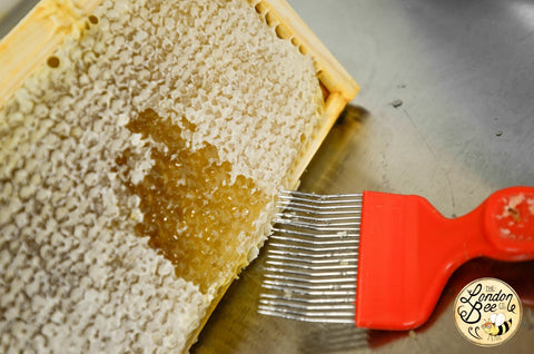 Uncapping Honey Comb