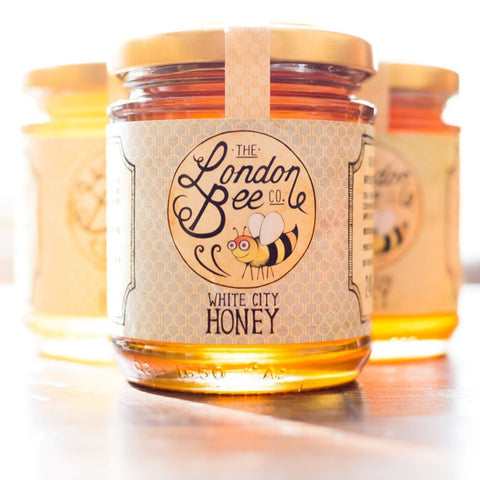 Raw White City Honey