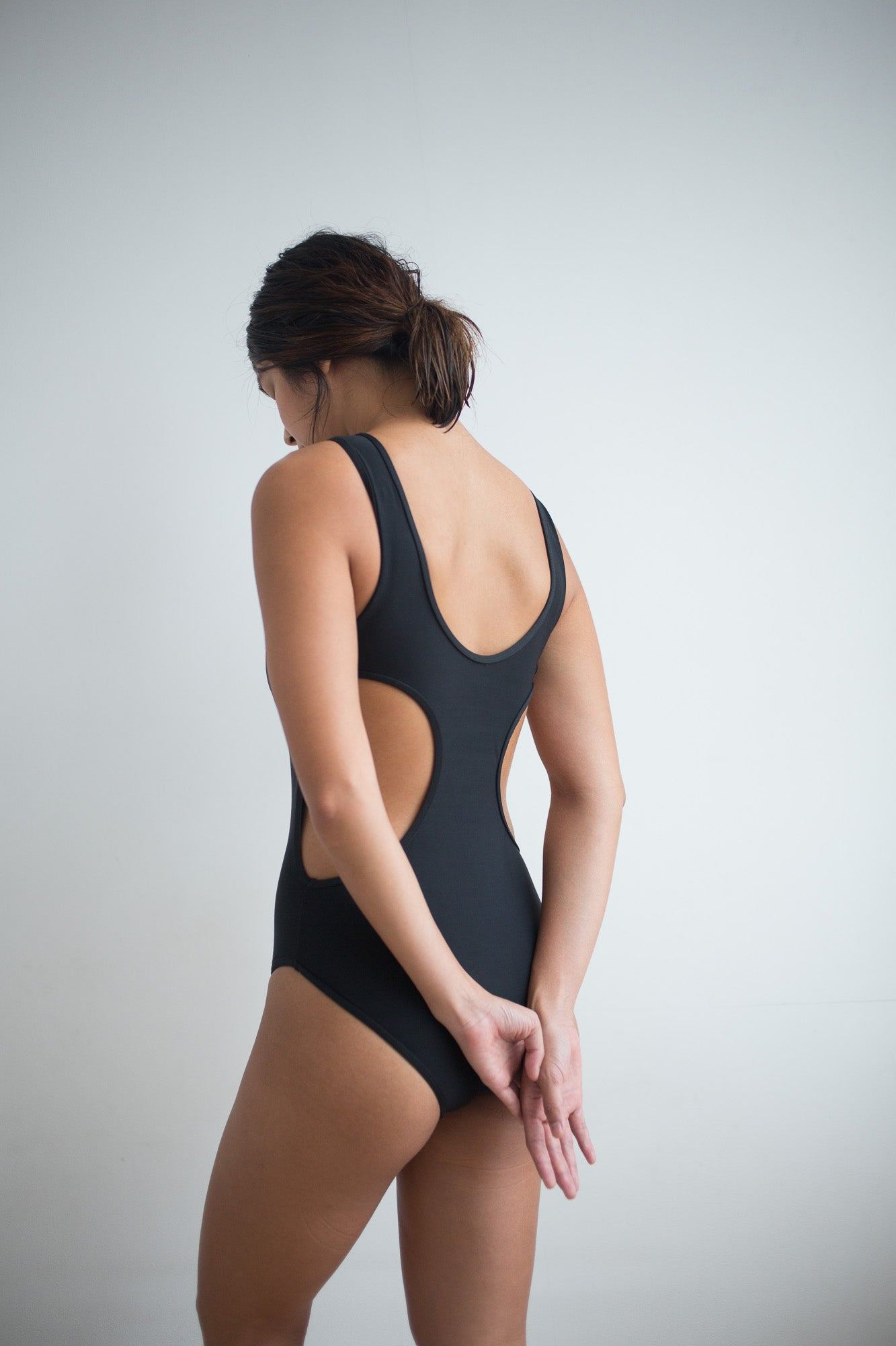 Ines One Piece - Black