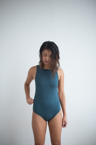 Ines One Piece - Slate Teal