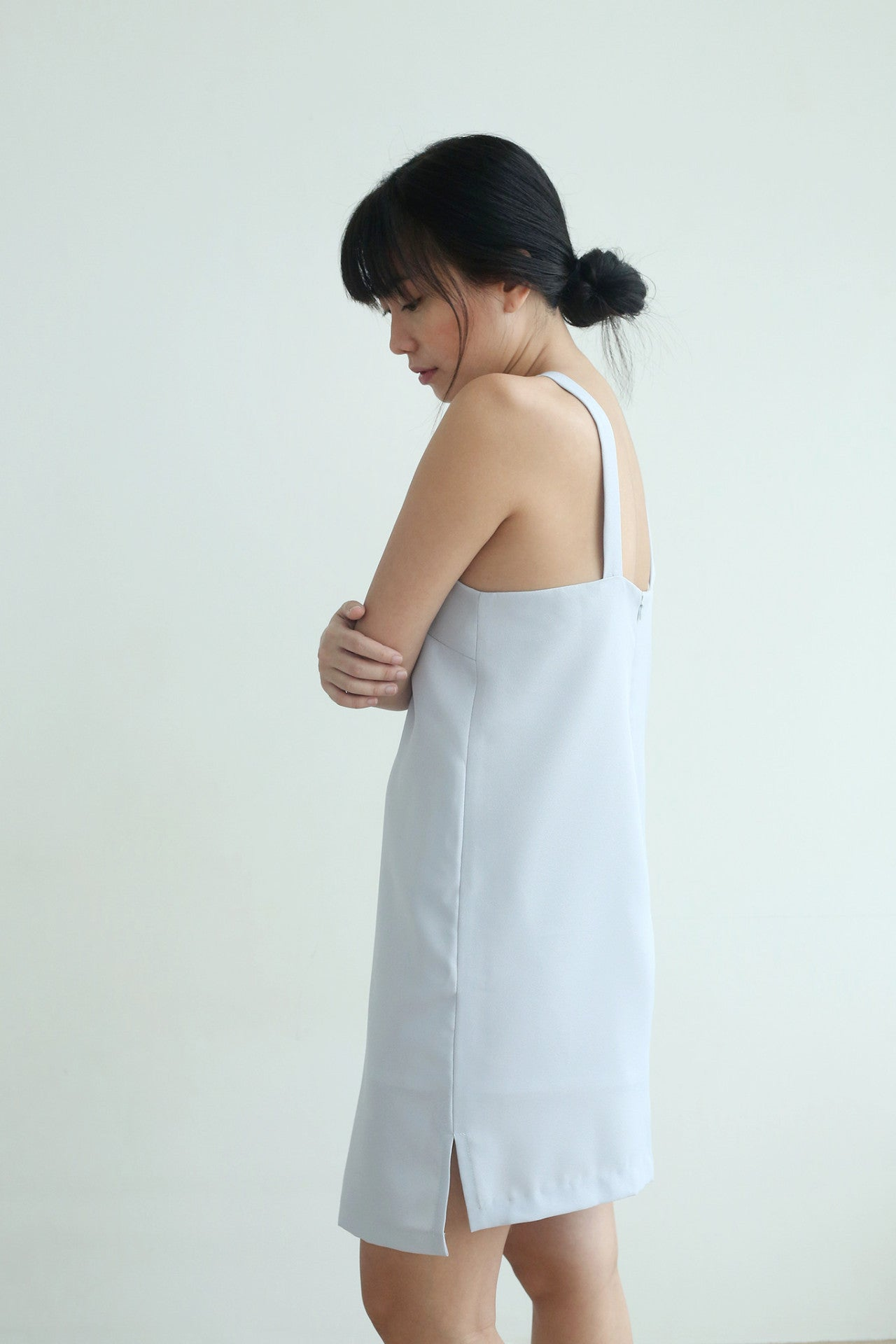 Asymmetrical Apron Dress