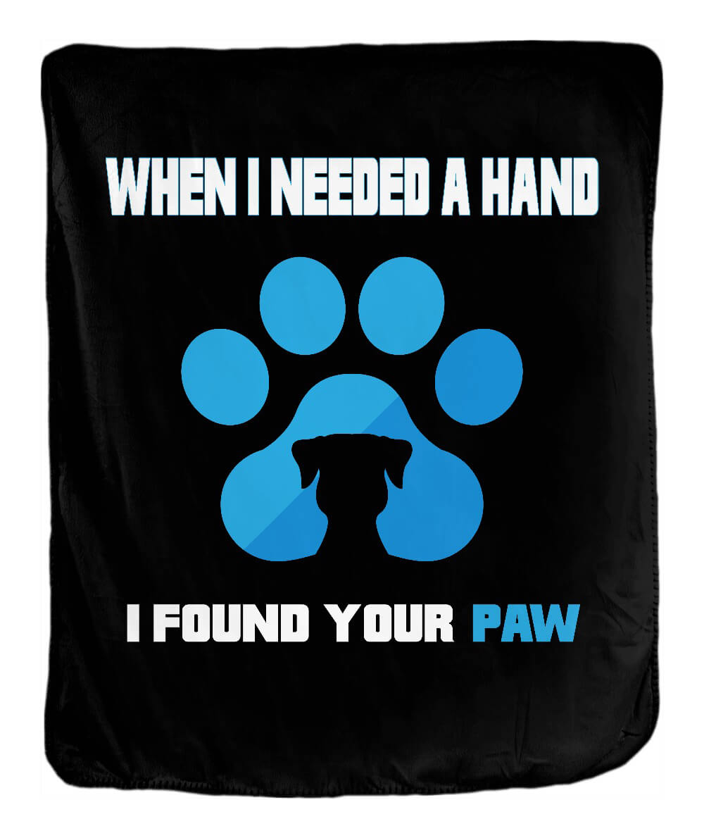 Found Your Paw Blanket