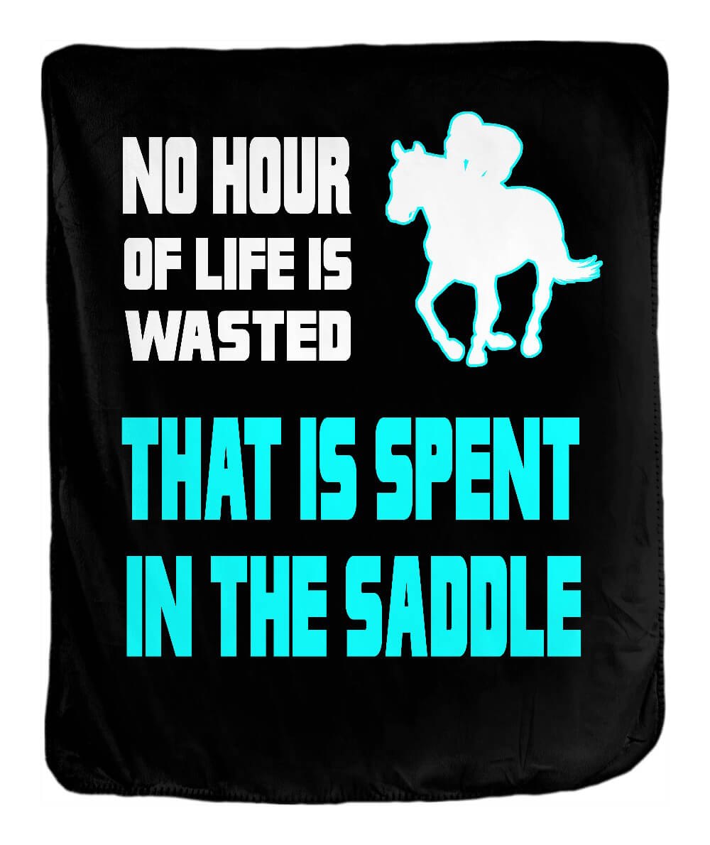 Spent in the Saddle Blanket