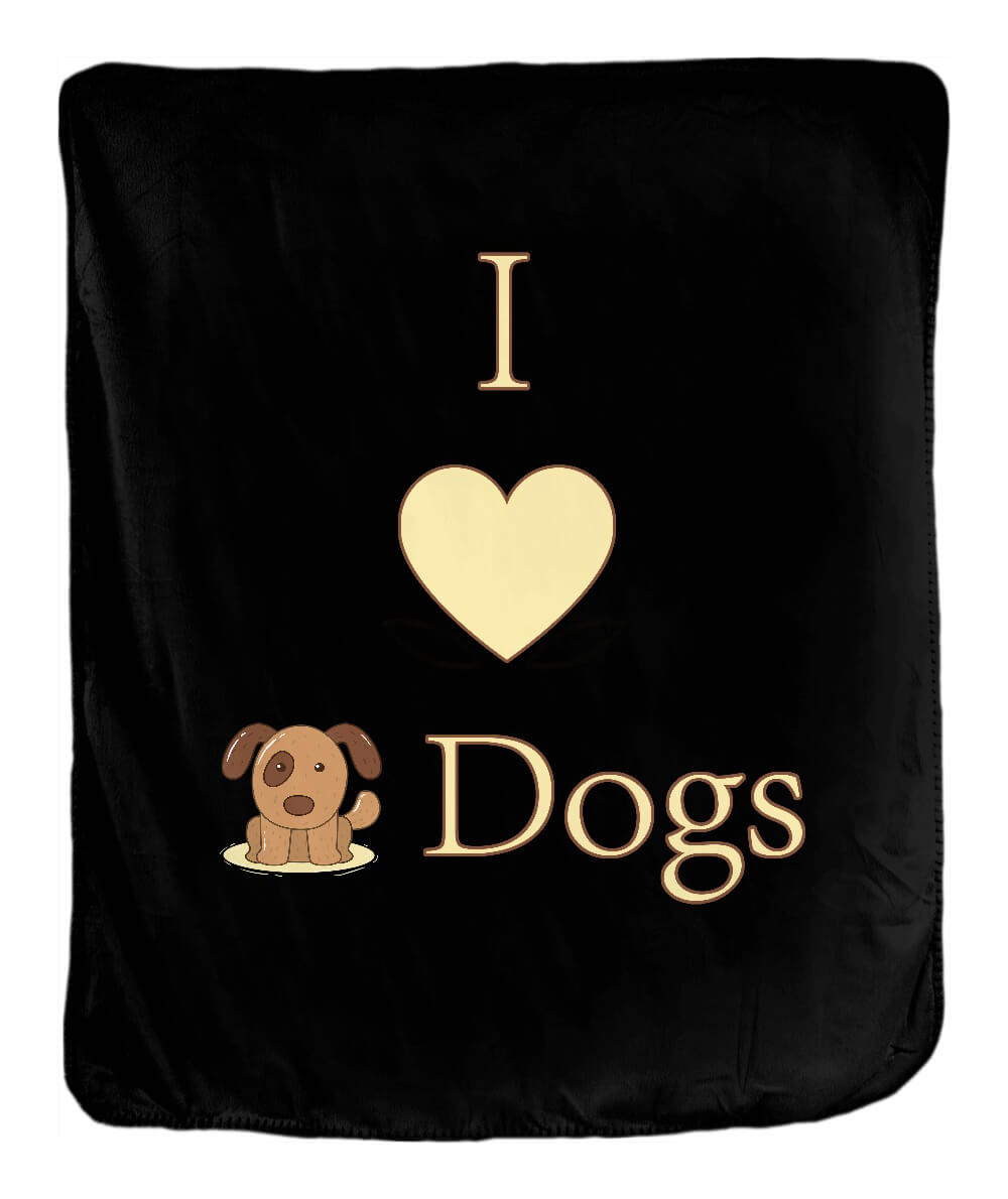 I Heart Dogs Blanket - Ark Emporium