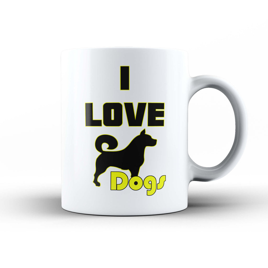 I Love Dogs Mug - Ark Emporium