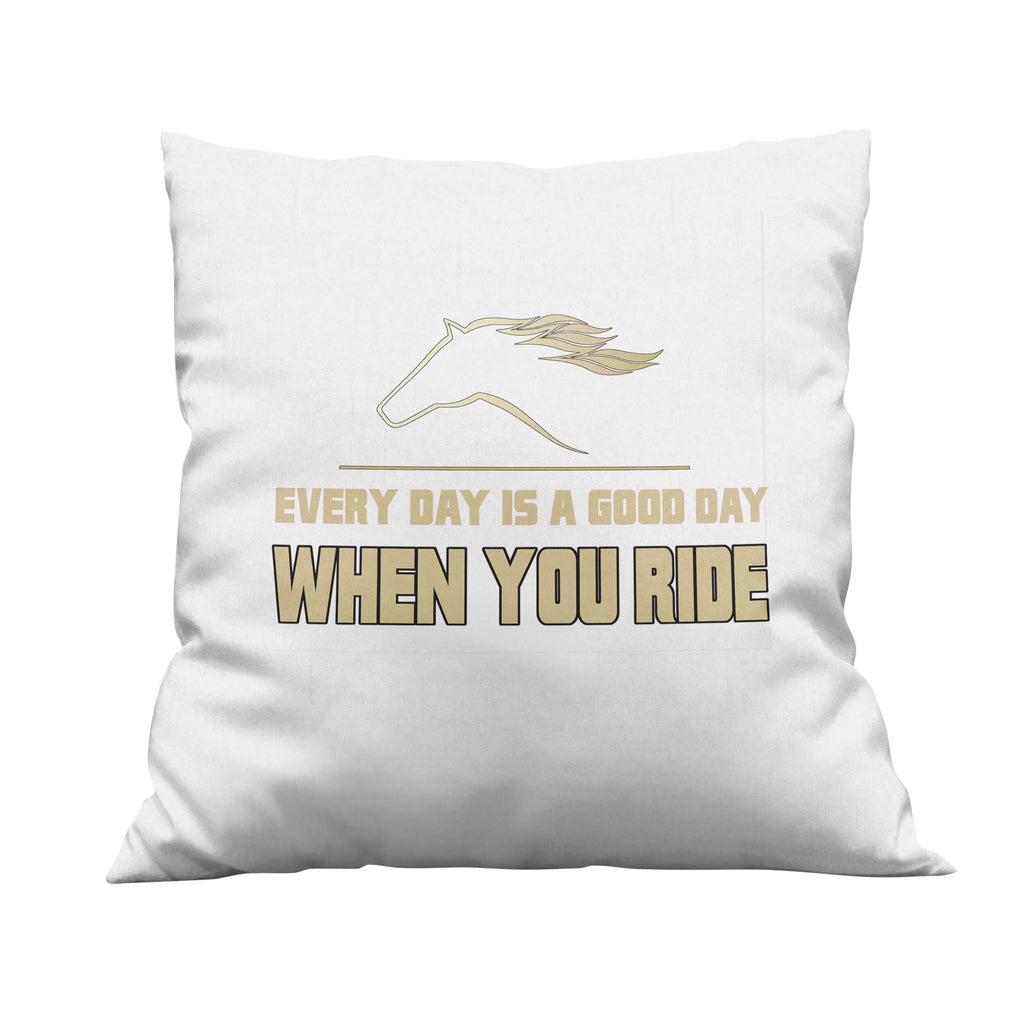 When You Ride Throw Pillow
