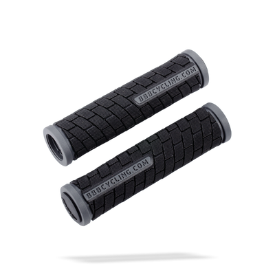 Bbb Grips Dualgrip Black/Grey 125Mm  - TUNE cycles