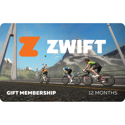 Zwift Membership Subscription Card - 12 Month  - TUNE cycles