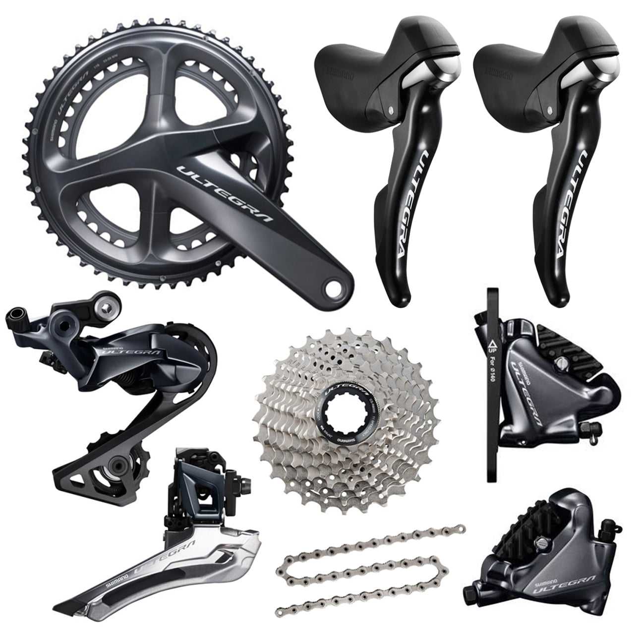 Shimano Ultegra Disc R8020 Groupset  - TUNE cycles