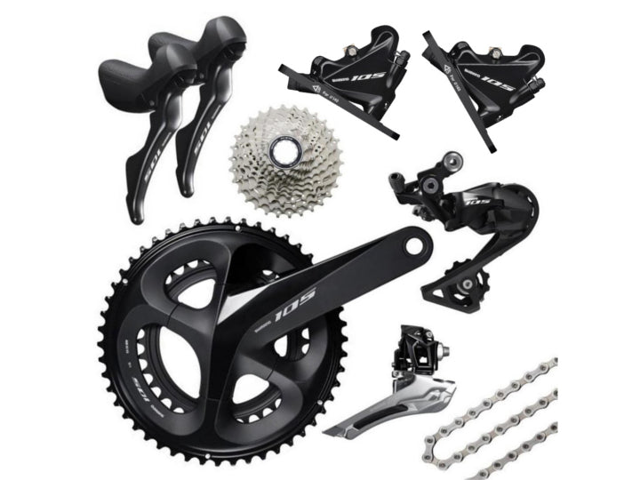 Shimano 105 Disc R7020 Groupset  - TUNE cycles