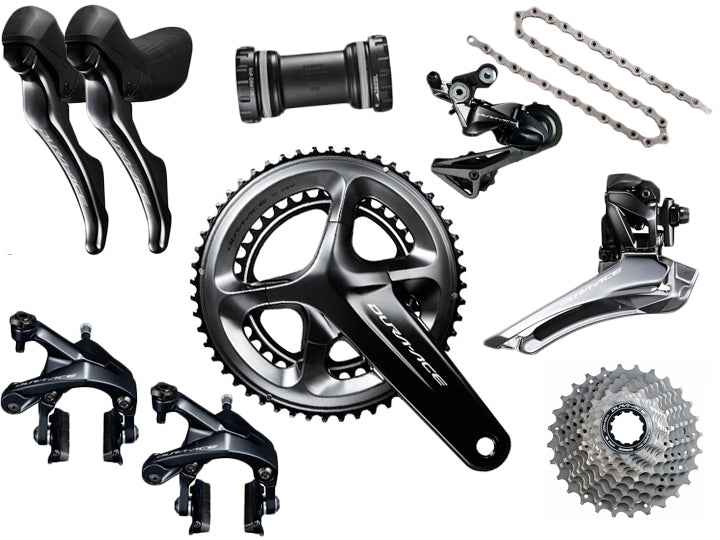 Shimano Dura-Ace R9100 Groupset  - TUNE cycles